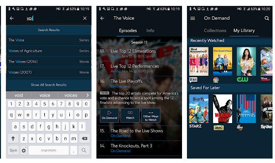 spectrum tv app for windows 10 pc features