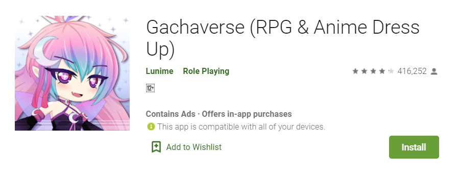 Gachaverse for windows pc